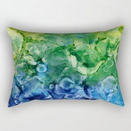 This Big Old World Rectangular Pillow