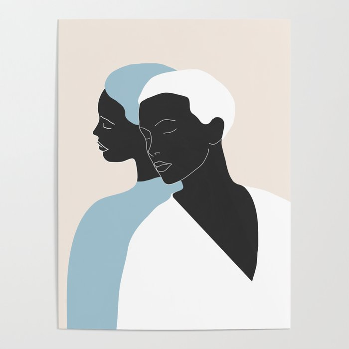 reflection - the mirror Poster