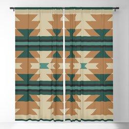 Southwestern Pattern 120 Blackout Curtain