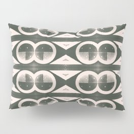 Mid-Century Modern Mix in Black and White Pillow Sham