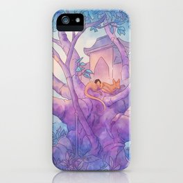 The Banyan Tree iPhone Case