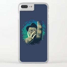 Sloth Freddy Clear iPhone Case