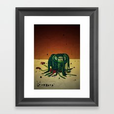The Gravity Framed Art Print