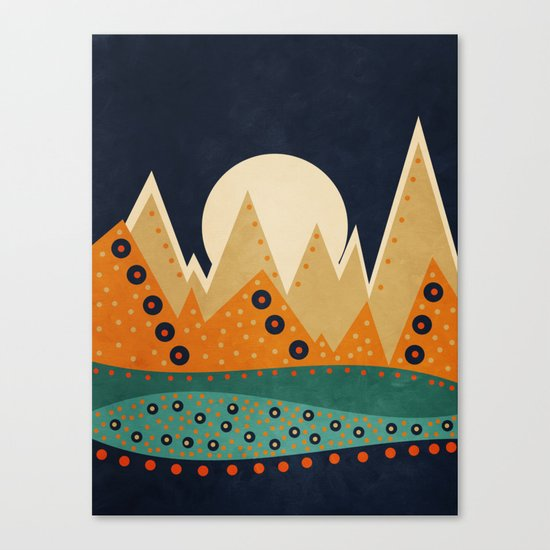 Geometric Spring 03 Canvas Print