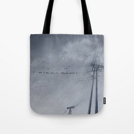 The Sky of the Man Tote Bag
