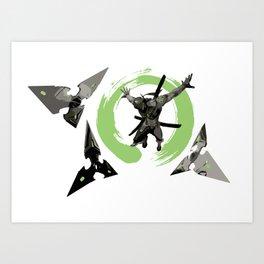 Genga Art Print