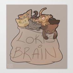 Loki's Brain Canvas Print