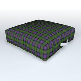 MacDonald Tartan Plaid Outdoor Floor Cushion