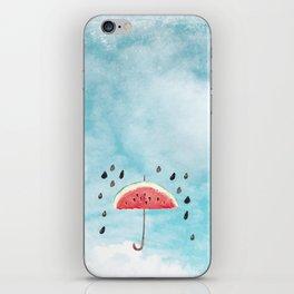 Melon - Fruity Summer Rain iPhone Skin