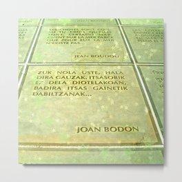 Joan Bodon Metal Print