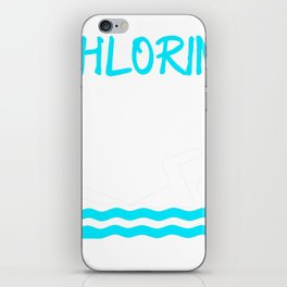 Funny Swimming Chlorine, It's what's for Breakfast Swimmer iPhone Skin