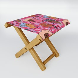 Autumn Babes - Lilac Folding Stool