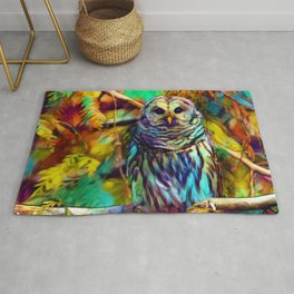 Barred Owl - As Deep as Forever Rug