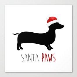 Santa Paws Canvas Print