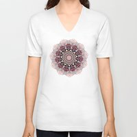 confetti V-neck T-shirts featuring Confetti by Laura Maxwell