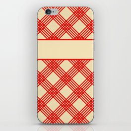 The Old Family Cookbook iPhone Skin