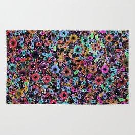 Vivid Floral Pattern 4181C Rug
