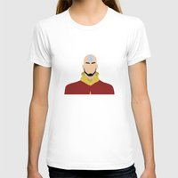 aang T-shirts featuring AANG by Danielle Ebro