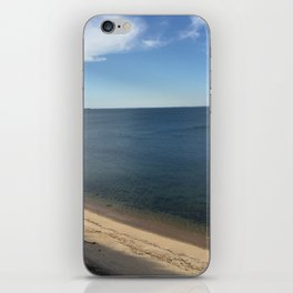 Clear Water Bay Beach from Above iPhone Skin