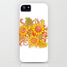 Sunflower_Growth iPhone Case