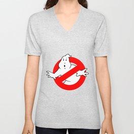 Ghostbusters Black Unisex V-Neck