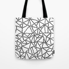 Dots Connect Tote Bag