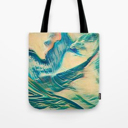 Sandy Waves Tote Bag