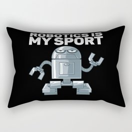 Robotics Is My Sport Gift for Robot Rectangular Pillow