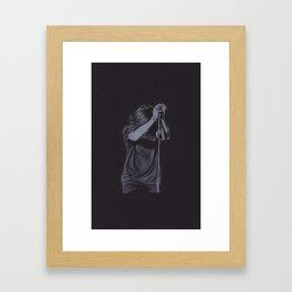 Harry Styles (Long Hair ...) Framed Art Print