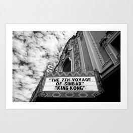 The Castro Theatre Art Print