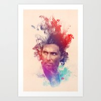 true detective Art Prints featuring True Detective by Pepe Psyche