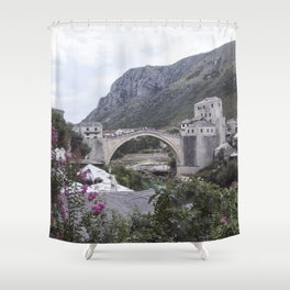 Mostar BiH III Shower Curtain