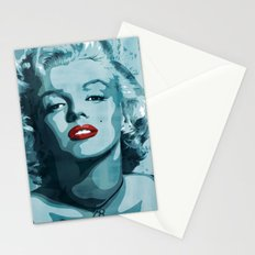 Brass Knuckle Marilyn Monroe Stationery Cards