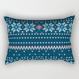 Pattern in Grandma Style #60 Rectangular Pillow