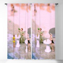 Beach Party Dolls Blackout Curtain
