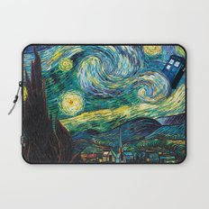 Tardis Starry Night Laptop Sleeve