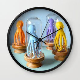 Handsome Octopuses Wall Clock