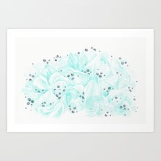 Nordic Blueberry  Art Print