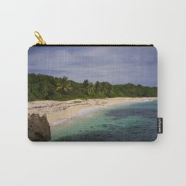 Mon arrivée sur la plage de Cap Macré Carry-All Pouch