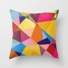 Creative Geometry Throw Pillow