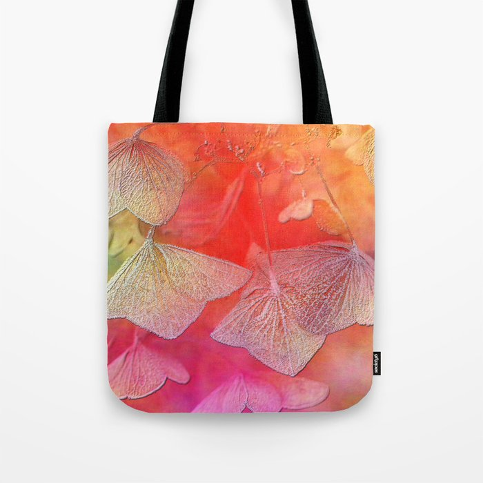 Withered hydrangea Tote Bag