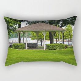 DeRivera Park- horizontal Rectangular Pillow