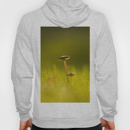 Small Mushrooms on Grass Autumn Scene #decor #society6 #buyart Hoody