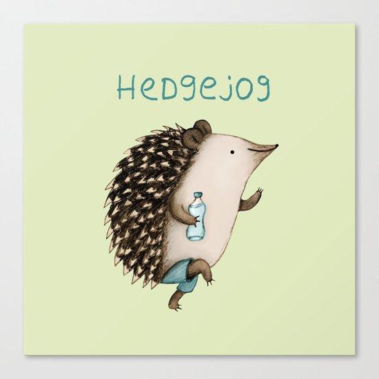 Hedgejog Canvas Print