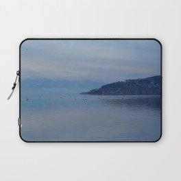 Lake Ohrid Blue hour Laptop Sleeve