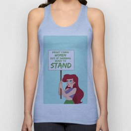 Protest Princess: Ariel Unisex Tank Top