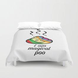 Magical poo Duvet Cover