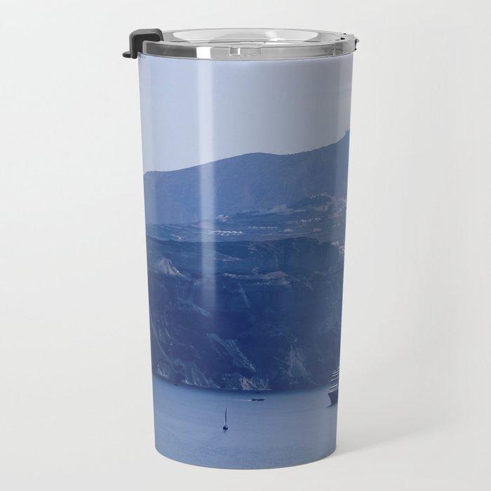 Santorini, Greece 8 Travel Mug