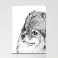 pomeranian Stationery Cards featuring Pomeranian by Doggyshop