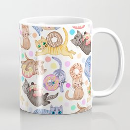 Sprinkles on Donuts and Whiskers on Kittens Coffee Mug